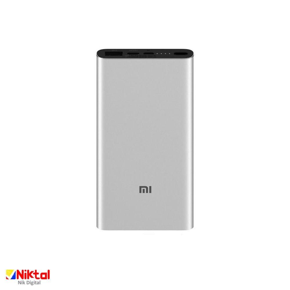 تصویر شارژر همراه شیائومی مدل PLM12ZM ظرفیت 10000 میلی آمپر ساعت Xiaomi 10000mAh Mi Power Bank3 PLM12ZM