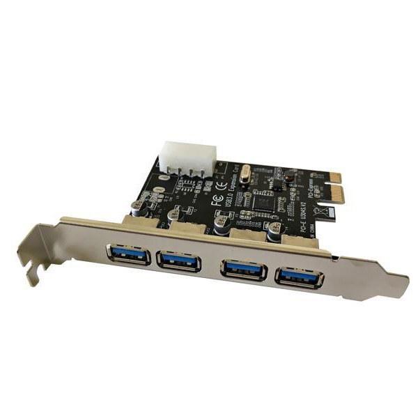 تصویر کارت PCI EXPRESS USB3.0 4PORT