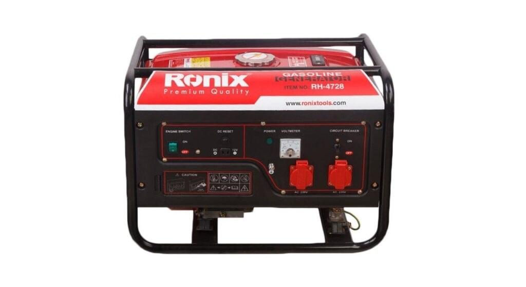 تصویر موتور برق رونیکس مدل  RH-4728 ronix Generator Model  RH-4728
