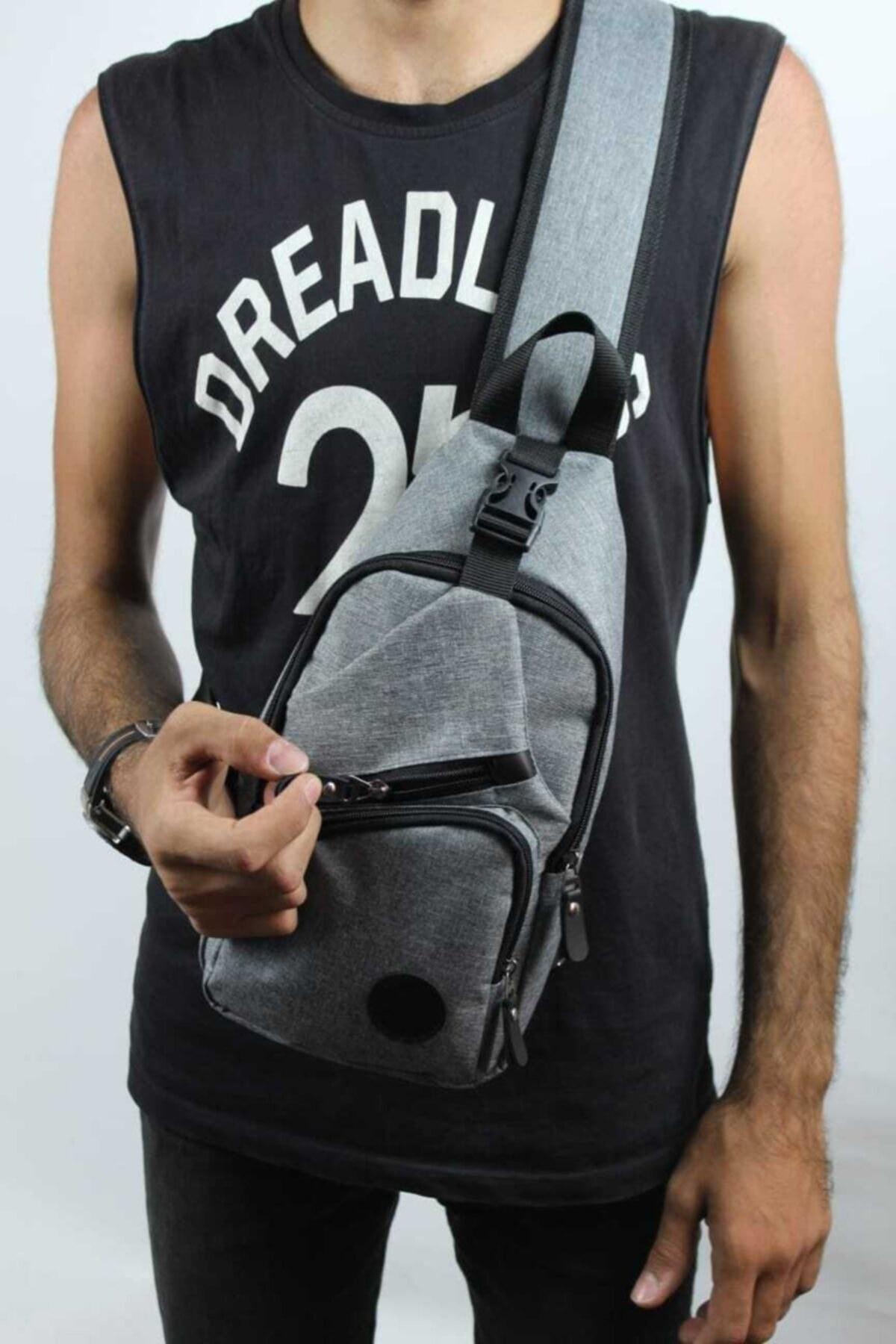 تصویر کیف کمری مردانه مدل دار برند Newish Polo رنگ نقره ای کد ty43470128
