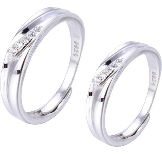 ست حلقه نقره - کد HR020