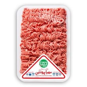 گوشت چرخ کرده ممتاز مخلوط گوساله و گوسفند ۱ کیلویی مهیا پروتئین