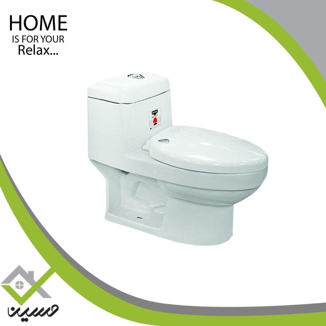 تصویر توالت فرنگی مدل استار سفید