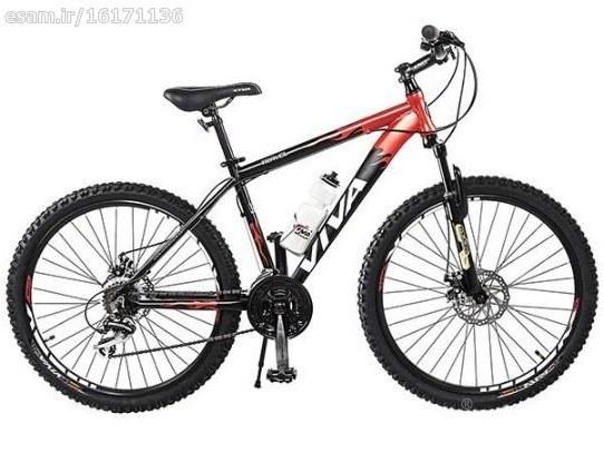 به صورت کارتونی ارسال می شود | دوچرخه ویوا مدل تراول سایز 26
