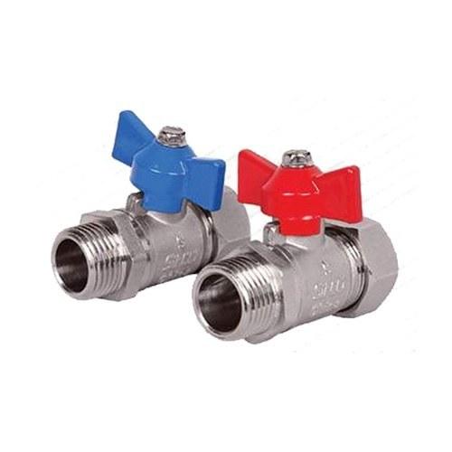 تصویر شیر کلکتوری سیتکو  Ball valve with butterfly handle