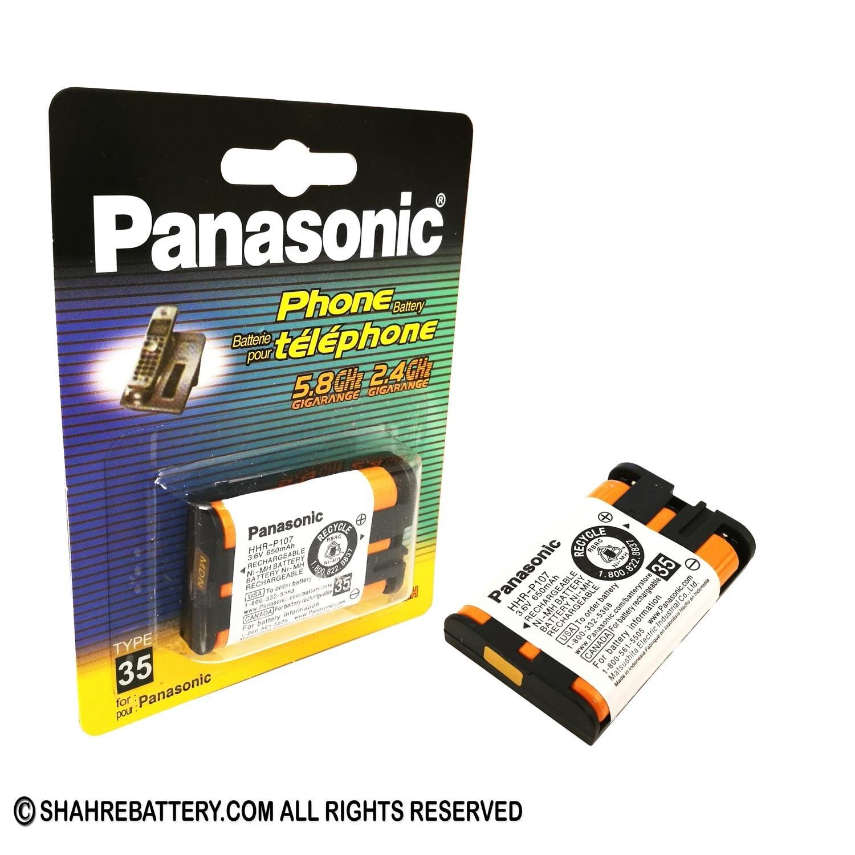 تصویر باتری تلفن بی سیم قابل شارژ کملیون مدل C094 HHR-P107 Camelion C094 HHR-P107 Cordless Phone Rechargeable Battery