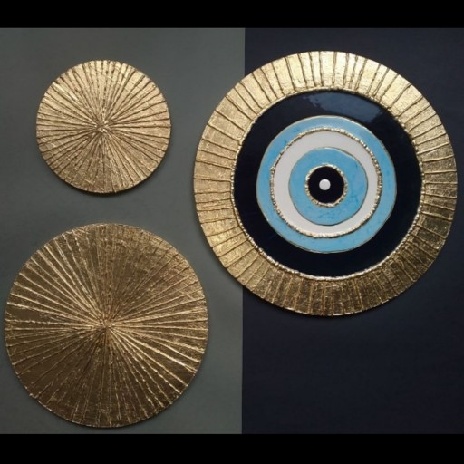 عکس تابلو چشم نظر سه تکه،رزین و ورق طلا،دست ساز  تابلو-چشم-نظر-سه-تکه-رزین-و-ورق-طلا-دست-ساز