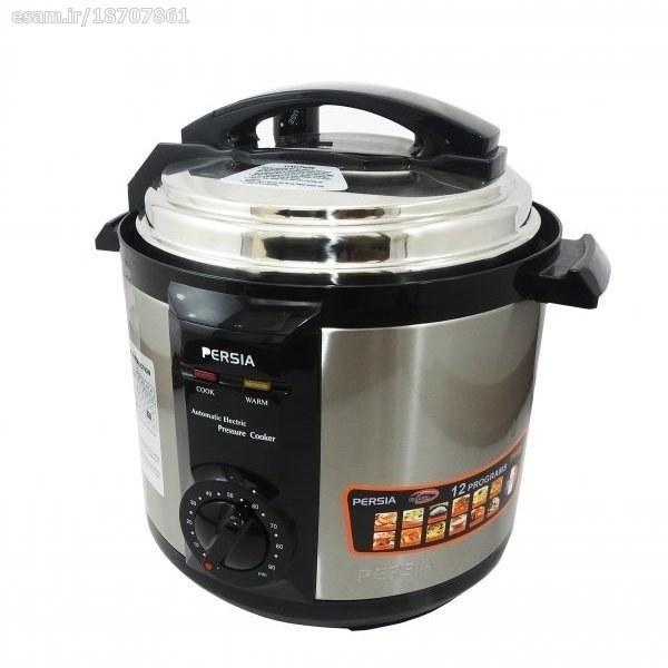 تصویر زودپز برقی پرشیا فرانس مدل PR-407 Persia France PR-407 Pressure Cooker