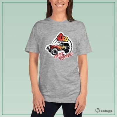 تصویر تی شرت زنانه offroad 5