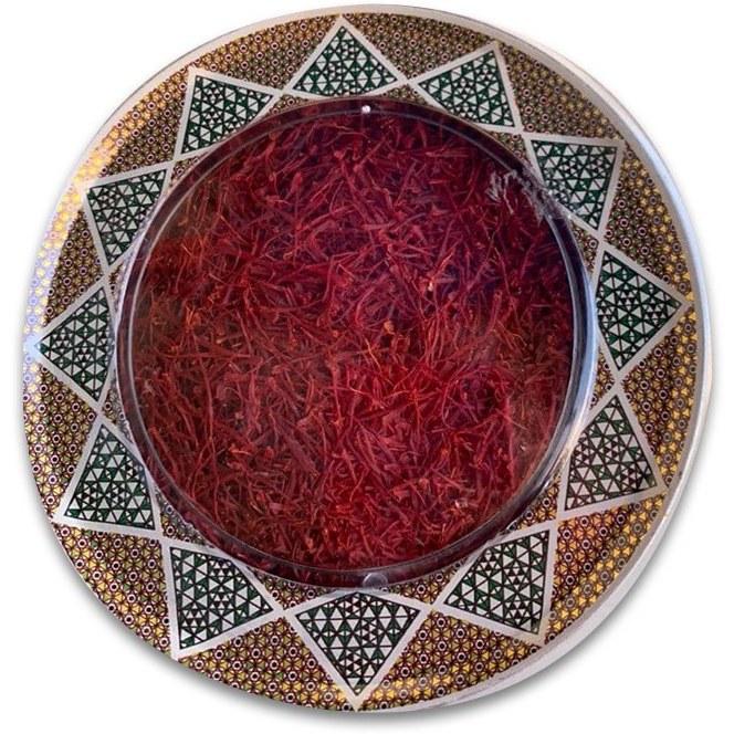 تصویر زعفران سرگل اصل قائنات خراسان یک مثقال