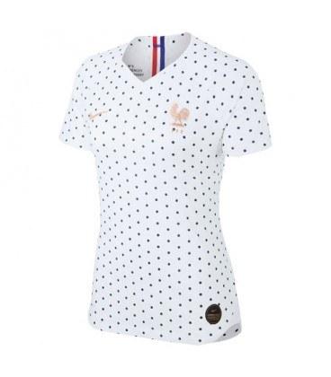 پیراهن زنانه ورزشی تیم ملی فرانسه France 2019-20 Women World Cup Away Soccer Jersey