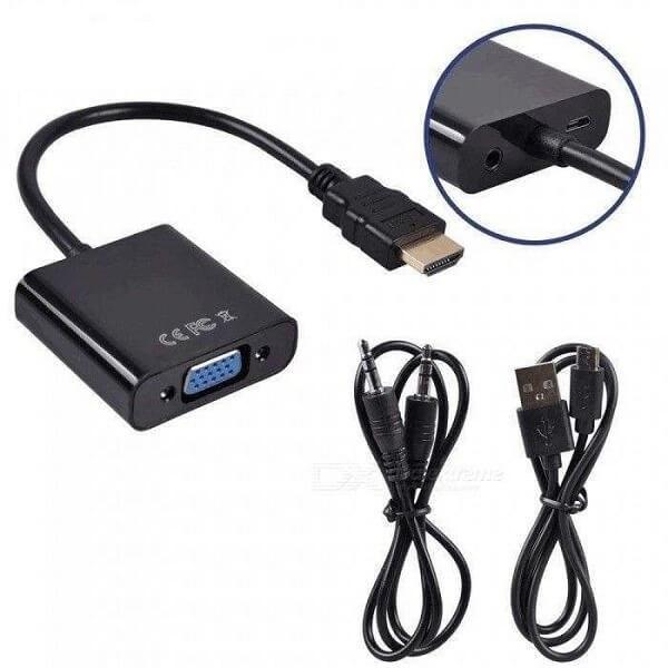 تصویر تبدیل HDMI به VGA دی نت ( مخصوص PS4 )