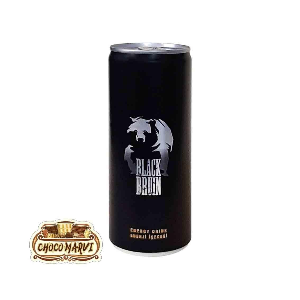 تصویر نوشیدنی انرژی زا بلک برون 500 میلی لیتر black bruin Black bruin energy drink 500 ml