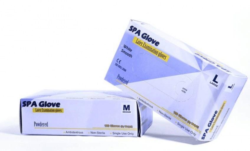 دستکش لاتکس شخصی یکبار مصرف مدل L و M (بسته 100 تایی )