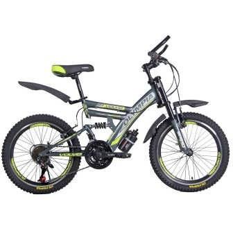 دوچرخه دو کمک کوهستان المپیا مدل 2005 سایز 20   Olympia 2005 Mountain bicycle Size 20