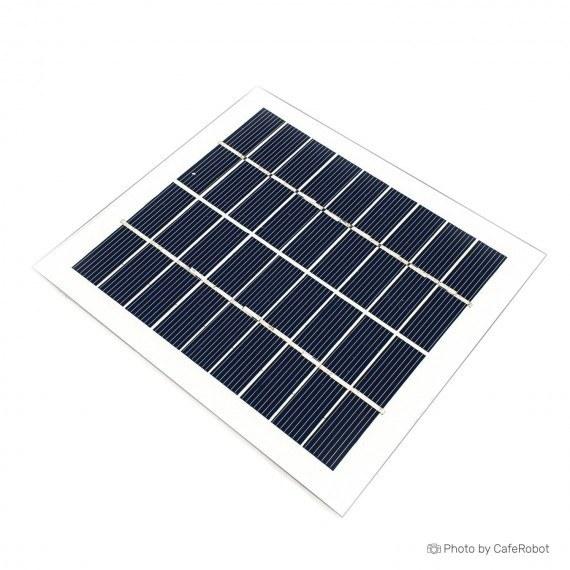 پنل خورشیدی - سولار پنل - سلول خورشیدی 9 ولت 150 میلی آمپر