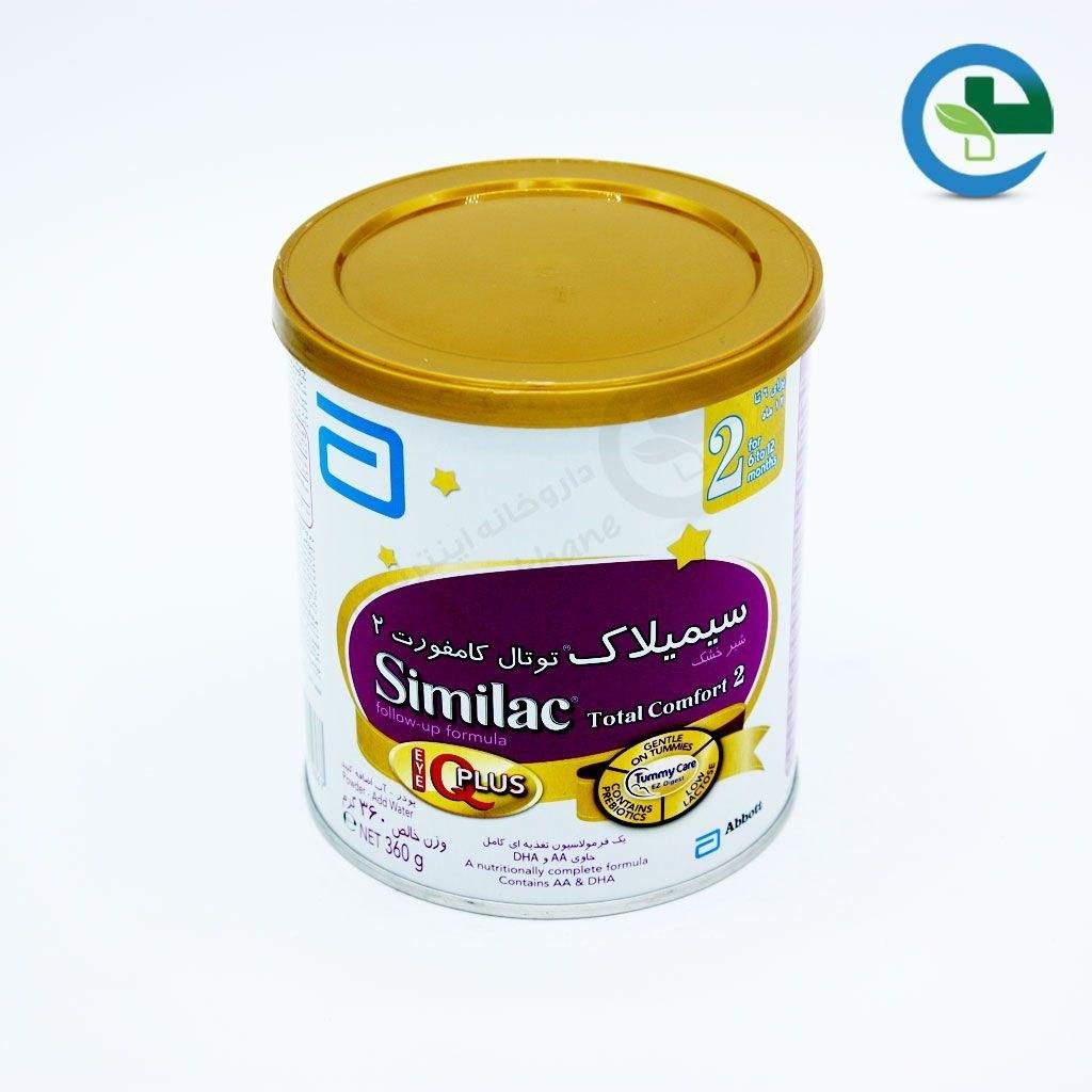 شیر خشک سیمیلاک توتال کامفورت ۲ ابوت ۴۰۰ گرم