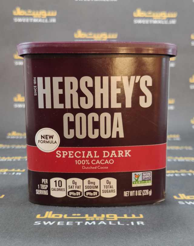 تصویر پودر کاکائو هرشیز شکلات تلخ 226 گ Hersheys