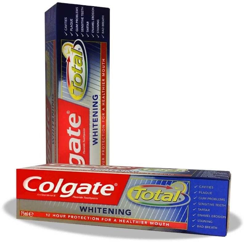 خمیر دندان سفید کننده کلگیت Colgate Total Whitening
