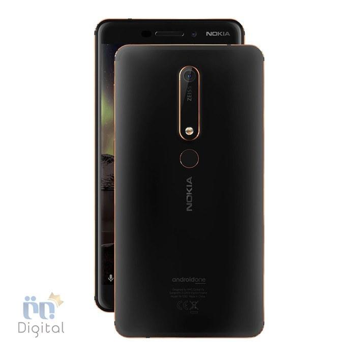 گوشی موبایل نوکیا مدل 6.1 ظرفیت ۶۴ گیگابایت | Nokia 6 2018 64GB Mobile Phone
