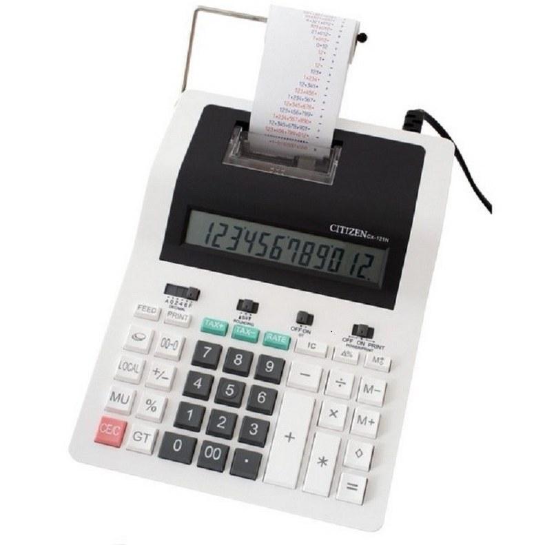 main images ماشین حساب شارپ مدل سی ایکس 121 ان ماشین حساب سیتیزن CX-121N Desktop Printing Calculator