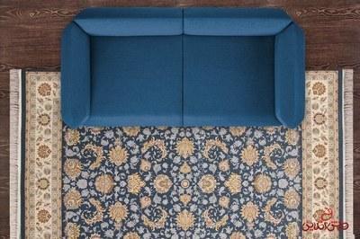 فرش ماشینی تهران طرح کلارا کاربنی