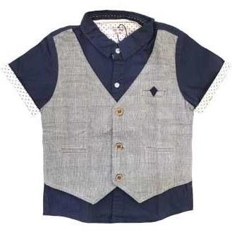 پیراهن پسرانه مدل بازیل کد 3021021