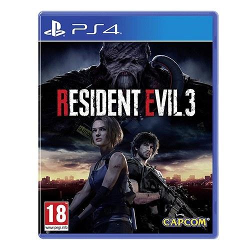 بازی resident evil 3 مناسب برای پلی استیشن ۴ ریجن 2