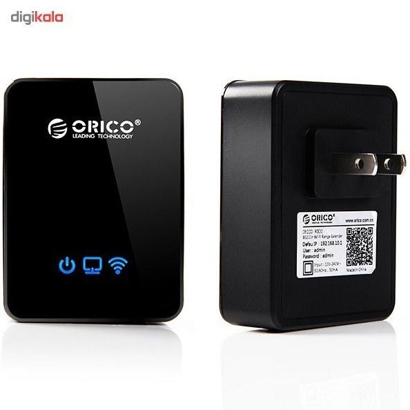 img گسترش دهنده محدوده بي سيم اوريکو مدل W300 Orico W300 Wireless Range Extender