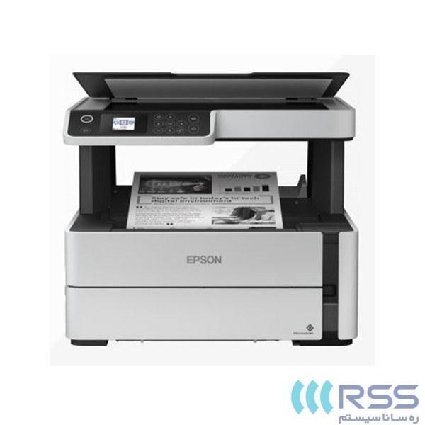 تصویر پرینتر چندکاره جوهرافشان مدل ET-M2170 اپسون Epson ET-M2170 Inkjet Multifunction Printer