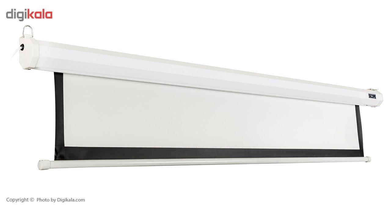 img پرده نمایش برقی پروژکتور اسکوپ سایز 300 × 300 Scope Motorized Projector Screen Electric 300 x300