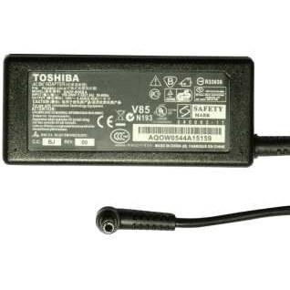 تصویر شارژر لپ تاپ 19 ولت 3.42  آمپر توشیبا مدل SADP-65KBA به همراه کابل برق