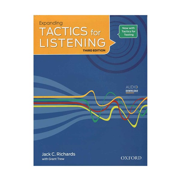 تصویر Expanding Tactics for Listening 3rd