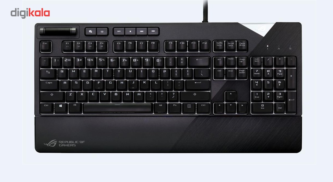 img کیبورد مکانیکی مخصوص بازی ایسوس مدل ROG Strix Flare ASUS ROG Strix Flare Mechanical Gaming Keyboard