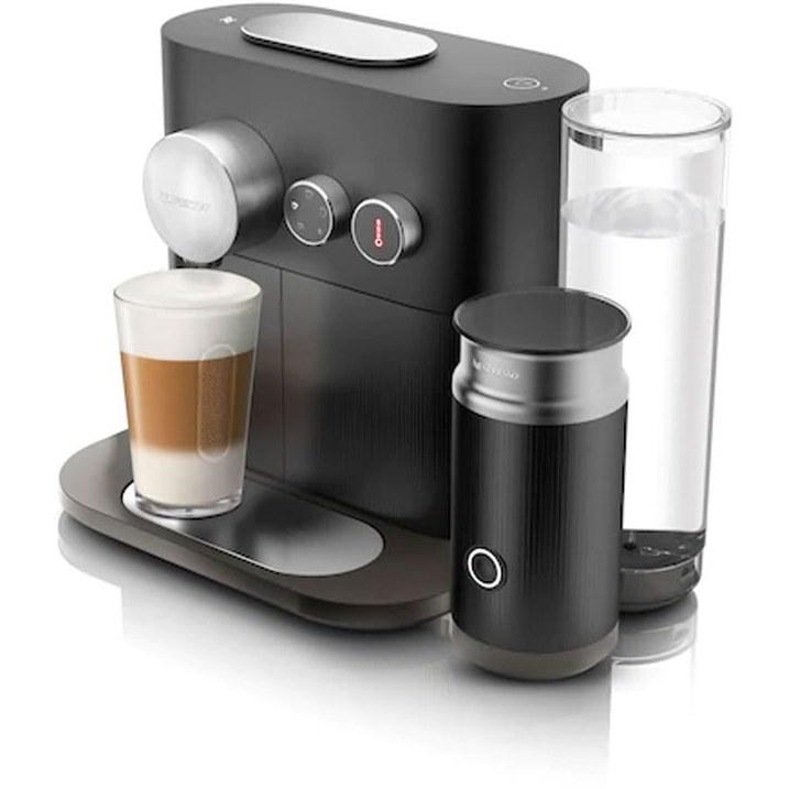 تصویر قهوه ساز نسپرسو اکسپرت با شیر  Expert & milk مشکی
