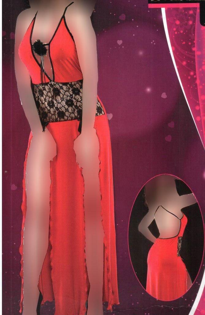 لباس خواب بلند زنانه ترک - مای بن 4009 |