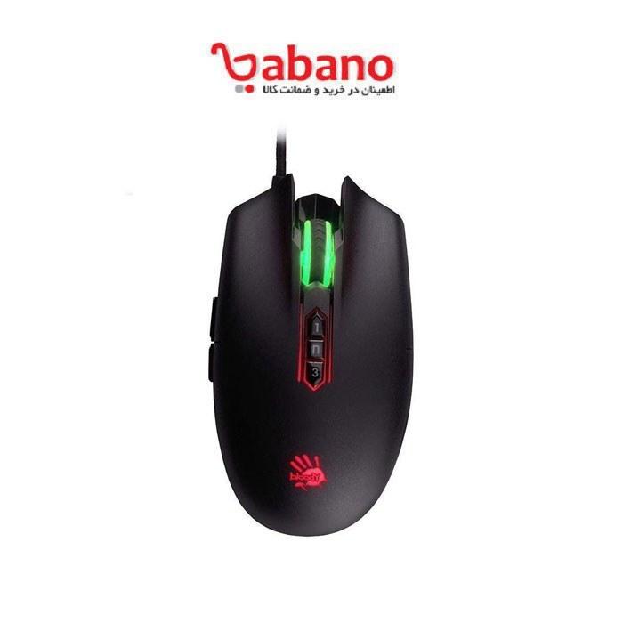 تصویر ماوس مخصوص بازی ای فورتک مدل P80 Pro A4tech P80 Pro Gaming Mouse