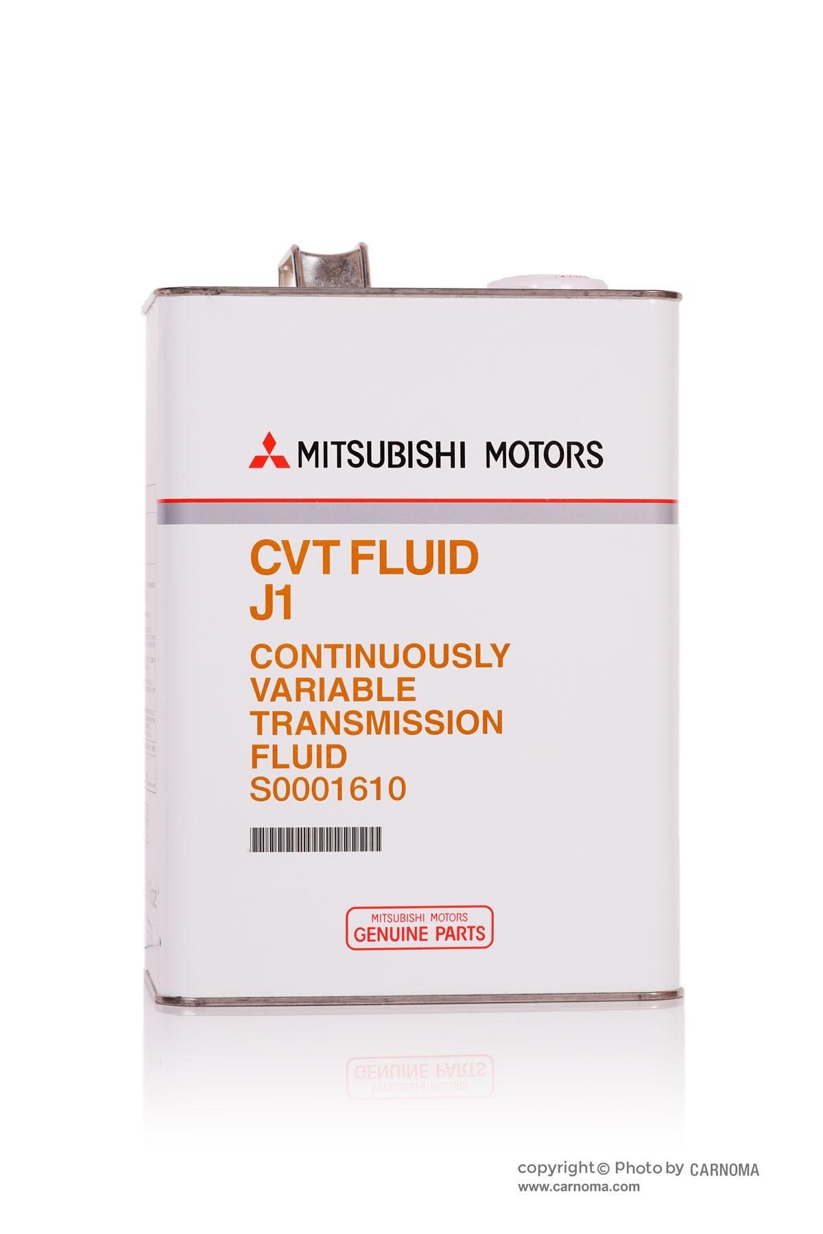 تصویر روغن گیربکس میتسوبیشی CVT Fluid J1 حجم چهارلیتر Mitsubishi CVT Fluid J1 Genuine Parts S0001610 4Lit