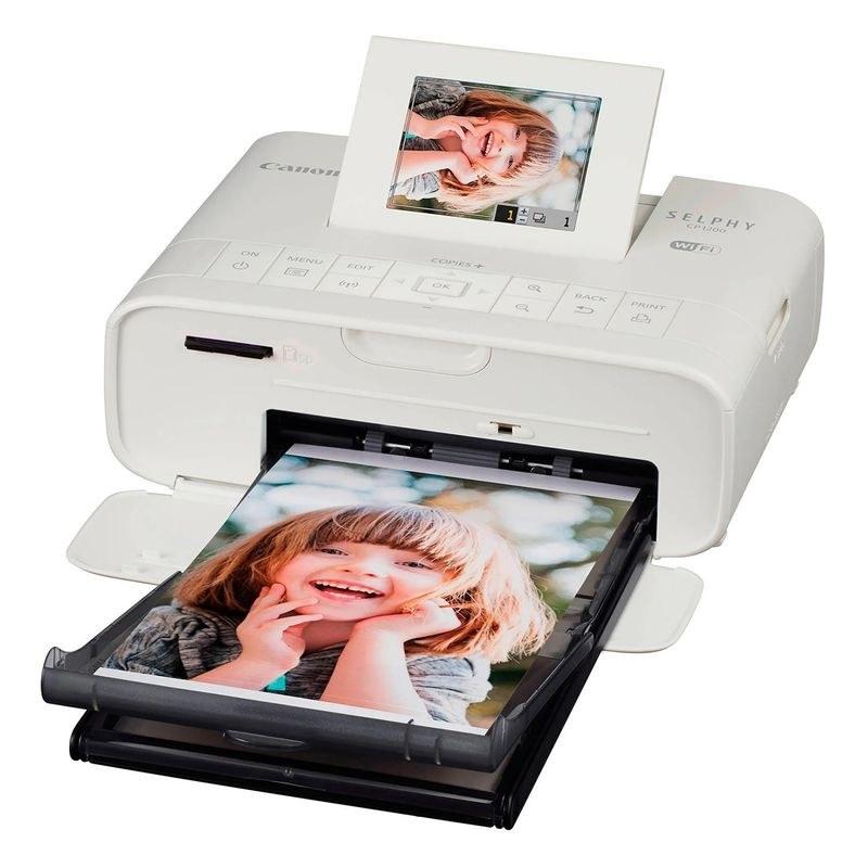 تصویر پرینتر چاپ عکس Canon SELPHY CP1200 Canon SELHPY CP1200 Wireless Printer
