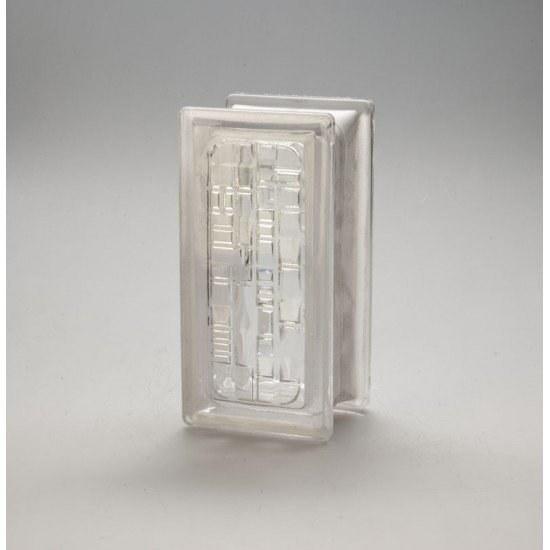 تصویر بلوک شیشه ای کاوه مدل نیمه کوبیسم