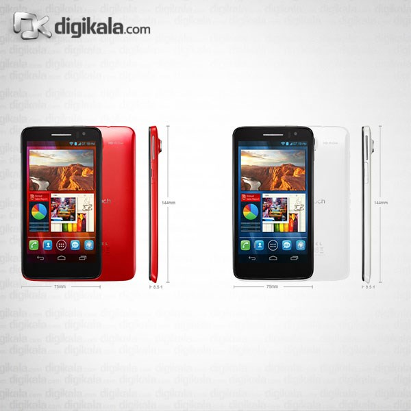 img گوشي موبايل آلکاتل وان تاچ اسکرايب اچ دي 8008D Alcatel One Touch Scribe HD 8008D Mobile Phone