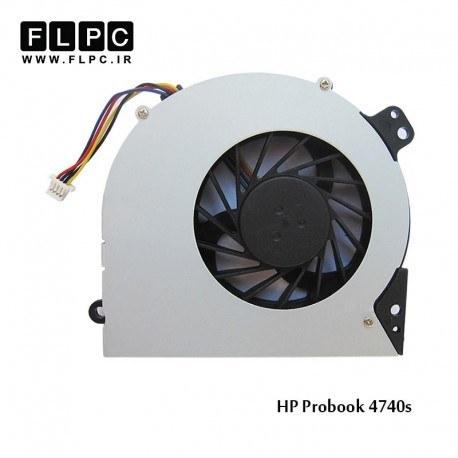 تصویر فن لپ تاپ اچ پی 4740s چهار سیم HP Probook 4740s Laptop CPU Fan