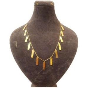 گردنبند طلا 18 عیار آزوریت کد 264  