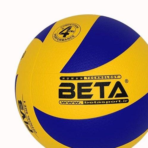 توپ مینی والیبال چرمی بتا مدل PVL۴۰۰۰
