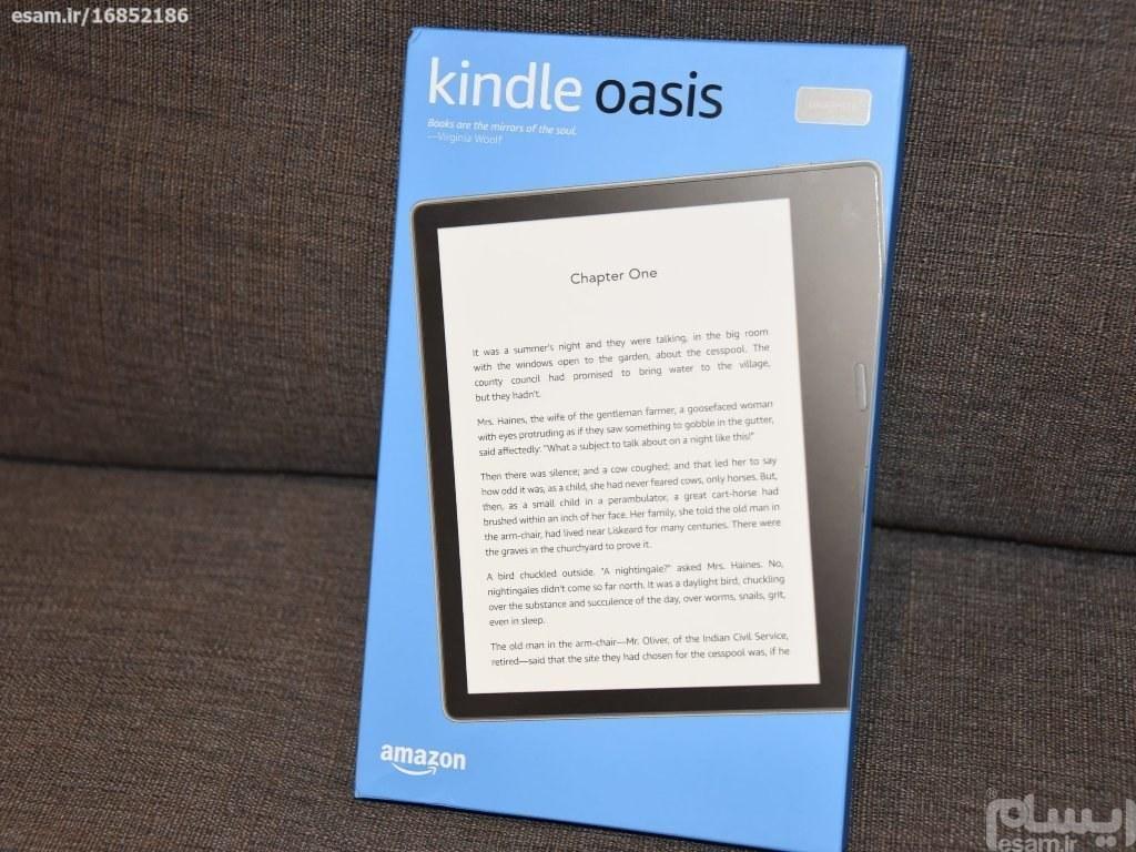 کتاب خوان آمازون Kindle Oasis WiFi  