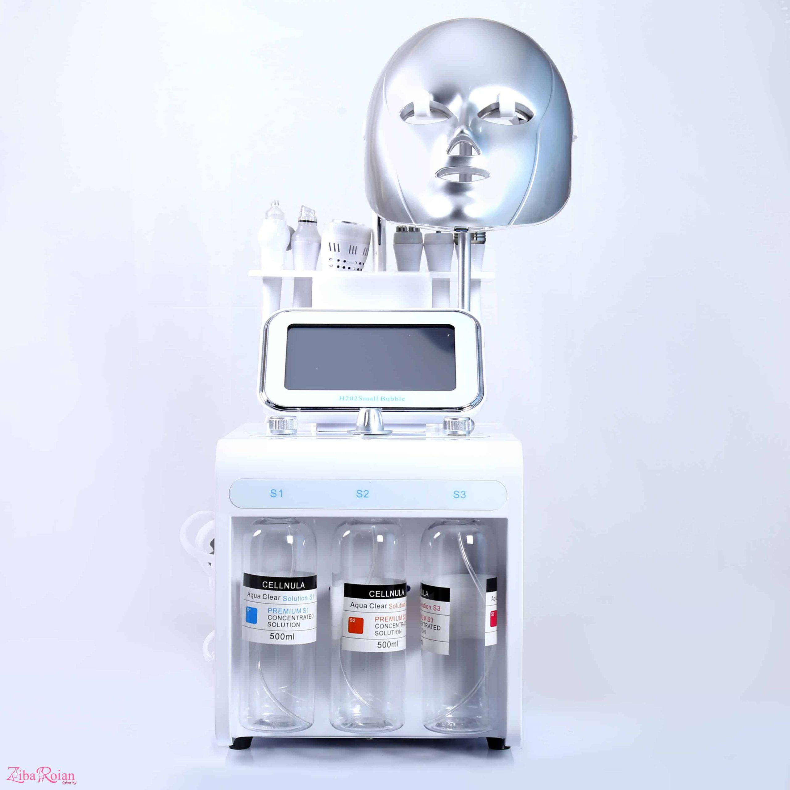 main images دستگاه هیدرافشیال 8 کاره Hydra facial