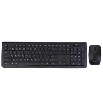 کیبورد و ماوس بی سیم تسکو مدل TKM 7018 | TSCO TKM 7018 Wireless Keyboard and Mouse