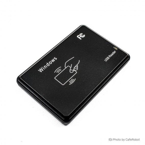 تصویر دستگاه کارت خوان RFID با رابط USB - فرکانس 125KHz