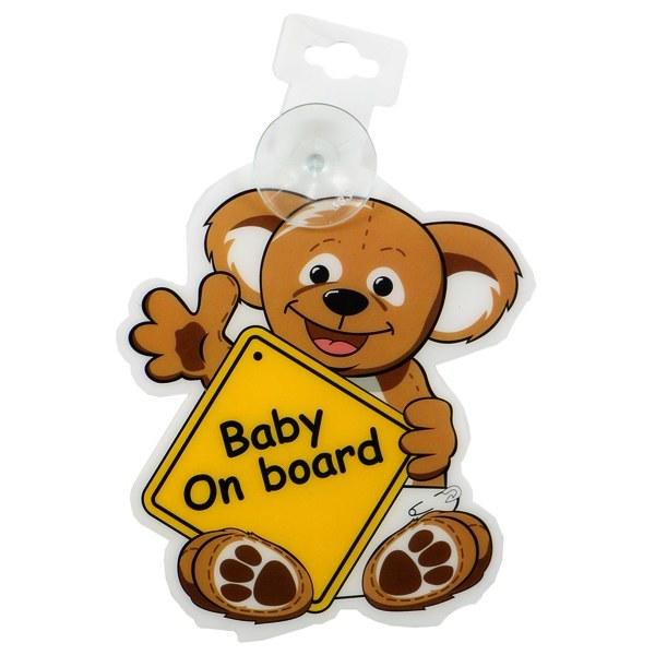 آویز هشدار کودک مادر کر Mothercare طرح خرس