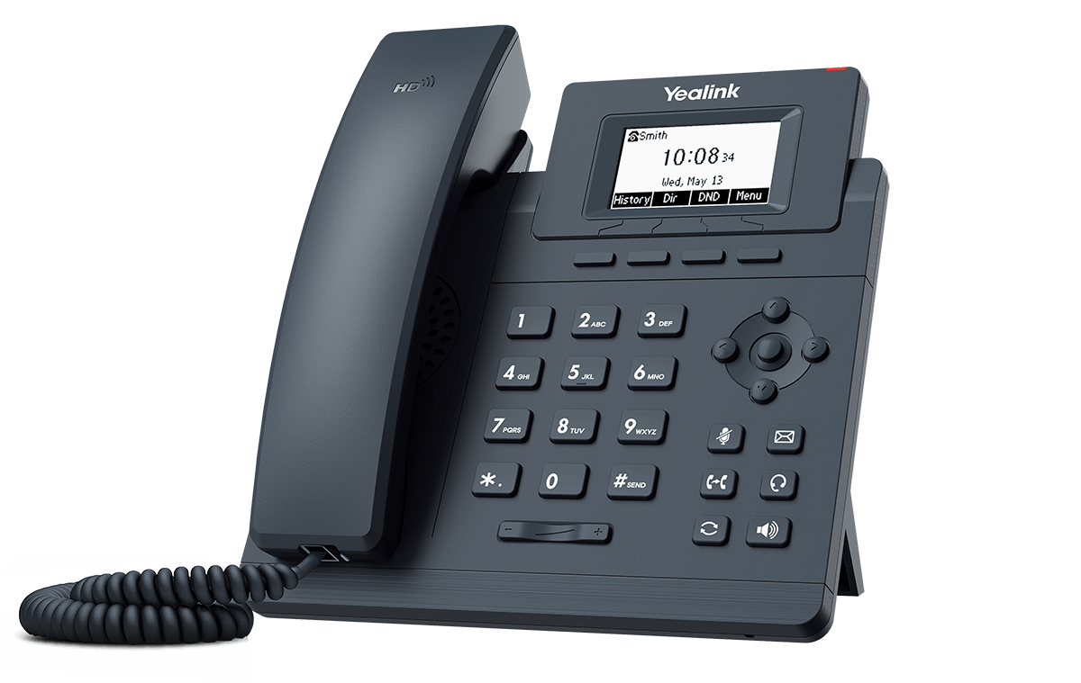 تصویر تلفن تحت شبکه مدل SIP-T30P یالینک Yalink SIP-T30P network telephone